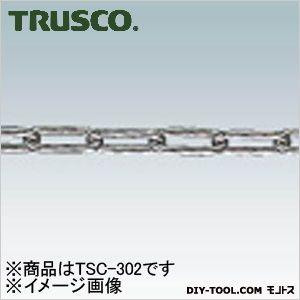 トラスコ TRUSCO ステンレスカットチェーン3.0mmX2m 93 新色追加 x 年末年始大決算 TSC302 mm 28 76