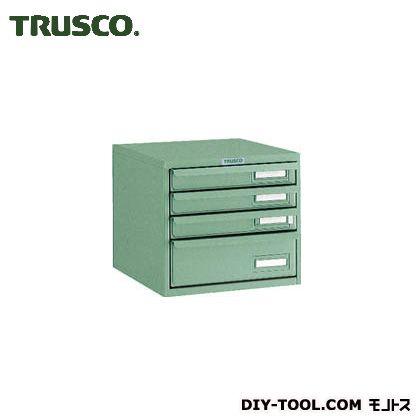 トラスコ TRUSCO 卓上ツールケース4段264X327XH243 定番スタイル 上品 340 x 280 mm T-L1S3 270