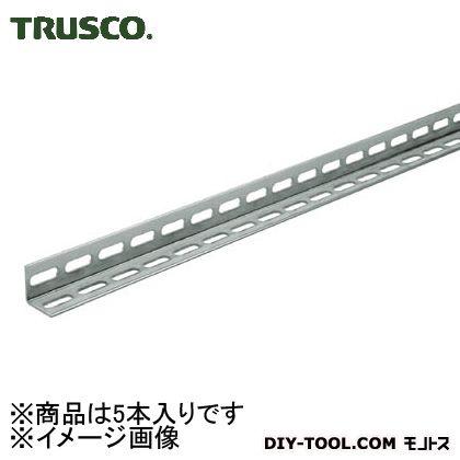 トラスコ L50型穴明ステンレスアングル両穴タイプ L2100 TKL5W210S 1箱(5本)