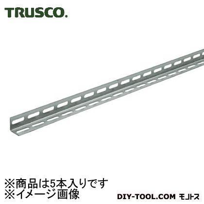 トラスコ L40型穴明ステンレスアングル両穴タイプ L2100 TKL4W210S 1箱(5本)