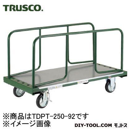 トラスコ 長尺用運搬車ハンドル付き (602X1300)全高1060 TDPT25092
