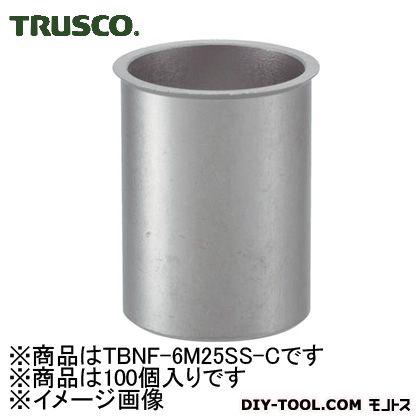 トラスコ クリンプナットステンレス薄 (TBNF6M25SSC)