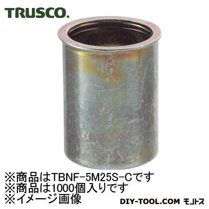 トラスコ クリンプナットスチール薄頭 (TBNF5M25SC)