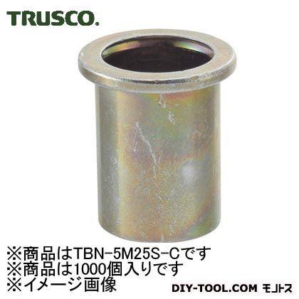 トラスコ クリンプナットスチール平頭 (TBN5M25SC)