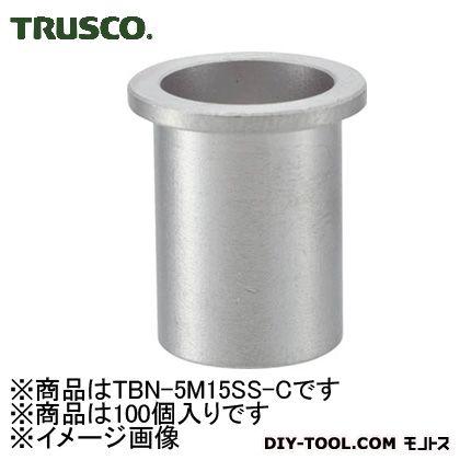トラスコ クリンプナットステンレス平 (TBN5M15SSC)