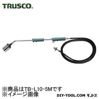 トラスコ プロパンバーナー 火口号数号数10 ホース5M TBL105M