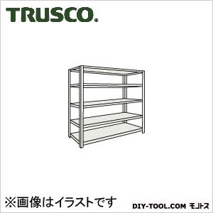 トラスコ ボルトレス軽量棚5段 ネオグレー 875×600×H1200 L43W15