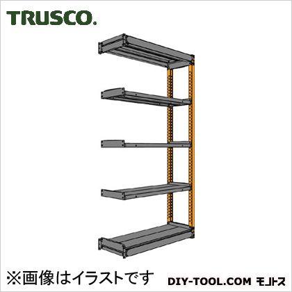 トラスコ 軽量多用途棚ボルトレス棚TSUF型連結型 900×300×1800 TSUF10063K5BB
