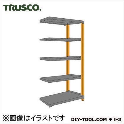 トラスコ(TRUSCO) TM3型中量棚900X571X18005段連結黒 BK TM36365B