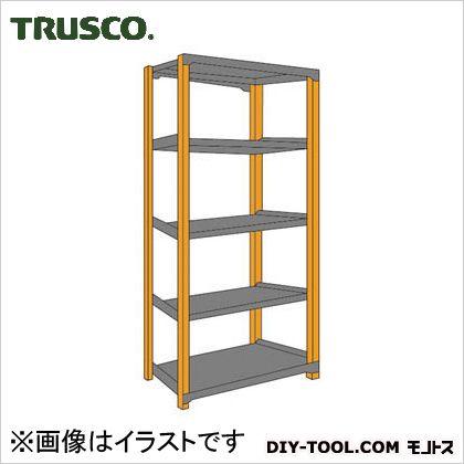 トラスコ TM3型中量棚 単体型300kgタイプ 黒 960×726×1810 TM36375