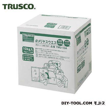 TRUSCO αメリヤスウエス汎用タイプ(10kg入) TMU-10A 10KG