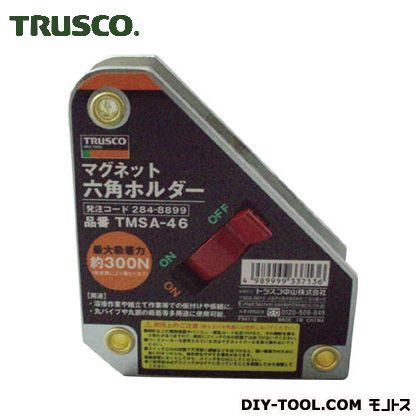 トラスコ TRUSCO マグネット六角ホルダ強力吸着タイプ吸着力300N 現金特価 265 285 x TMSA-46 mm 新作販売