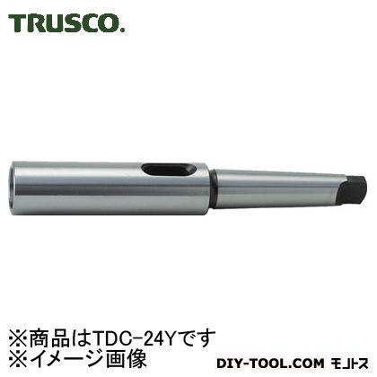 トラスコ ドリルソケット焼入 研磨品 内径MT-2外径MT-4 (TDC24Y) 金工用アクセサリー 金工 アクセサリー