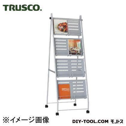 トラスコ カタログスタンドA4用2列4段型  TCS24