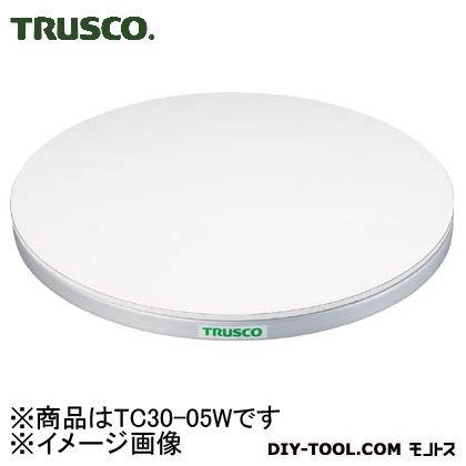 トラスコ 回転台50kgタイプ(ポリ化粧天板) 外形300mm TC3005W