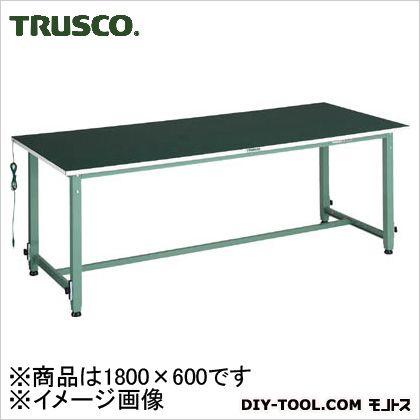 トラスコ 高さ調整付帯電防止マット  AEM1860D