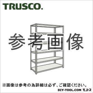 トラスコ 軽量開放棚6段 ネオグレー 1500×600×2100H 75W16