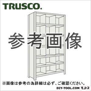 トラスコ(TRUSCO) 軽量棚縦仕切付W875XD300X21003列6段ネオグレ NG 73V37 1台