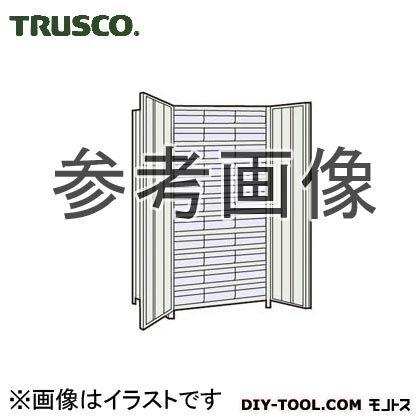 トラスコ(TRUSCO) 軽量棚扉付875X450X1800樹脂引出透明大X33ネオグレ NG 63XT812D11 1台