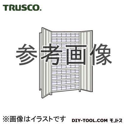 トラスコ(TRUSCO) 軽量棚扉付875X450X1800樹脂引出透明小X66ネオグレ NG 63XT812C11 1台