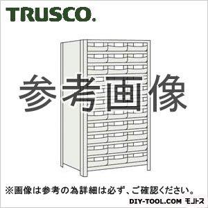 トラスコ 樹脂引出白大11段付軽量棚 ネオグレー 875×450×1800 63X812F11