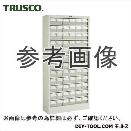 トラスコ(TRUSCO) バンラックケースL型透明引出小X72個H1790透明 TM 611L-N72S