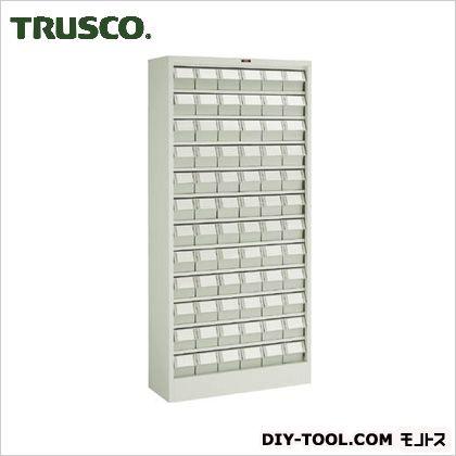 トラスコ(TRUSCO) バンラックケースL型NG引出小X72個H1790ネオグレ NG 611L-N72S
