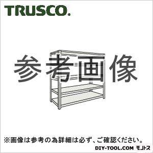 トラスコ 軽量開放棚5段 ネオグレー 875×450×1500H (53X15)