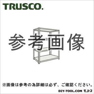 トラスコ 軽量開放棚4段 ネオグレー 1200×600×1200H (44W14)