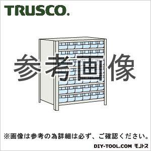 トラスコ 樹脂引出透小7段付軽量棚 ネオグレー 875×450×1200 43X808C7