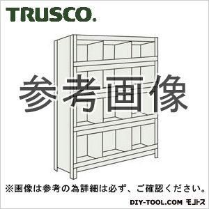 トラスコ(TRUSCO) 軽量棚縦仕切前当付875X450X12003列4段ネオグレ NG 43X55 1台