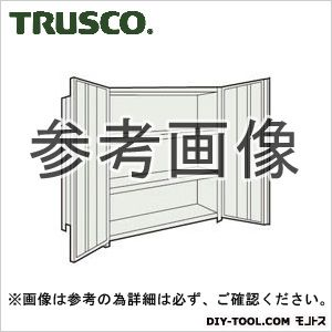 トラスコ 扉付軽量棚 ネオグレー 43WT24