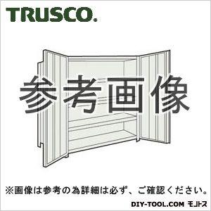 トラスコ 扉付軽量棚 ネオグレー 43VT25