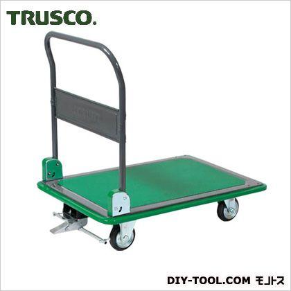 ※法人専用品※トラスコ(TRUSCO) ハイグレード運搬車折りたたみ式946X646S付 1