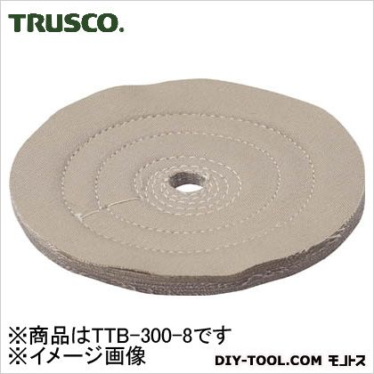 トラスコ TRUSCO 茶カツ仕上げバフ外径Φ300X穴径25.4mm1個入 298 爆買い新作 x 299 訳あり 23 TTB-300-8 mm 1個