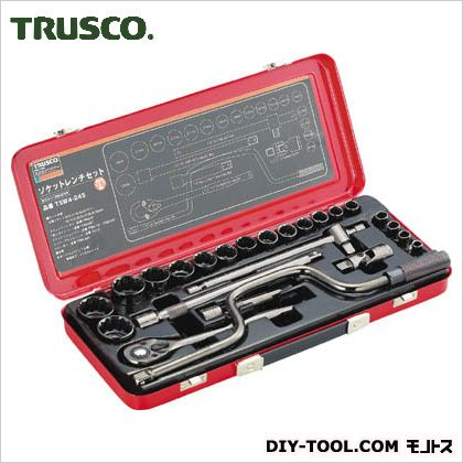 トラスコ ソケットレンチセット 差込角12.7mm TSW424S