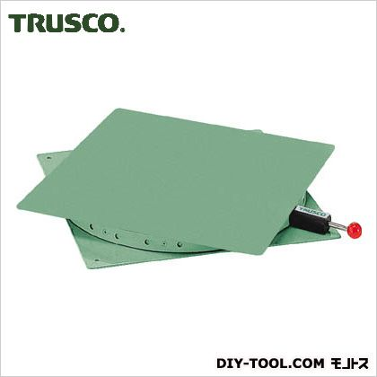 トラスコ 回転台角型テーブル鉄板 耐荷重300kg 400×400 TT400