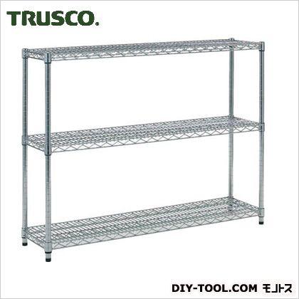 トラスコ(TRUSCO) ステンレス製メッシュラックH923XW1205XD3053段 TSM3433