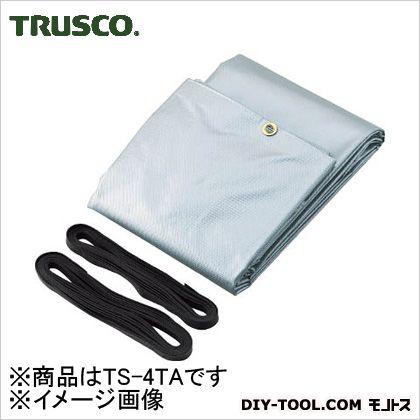 トラスコ トラックシートα 4t車用 銀 TS4TA