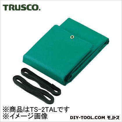 トラスコ トラックシートα 2tロング 緑 TS2TAL