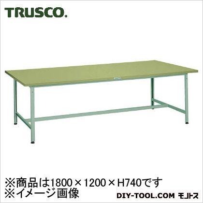 トラスコ 大型AEH軽量作業台 1800×1200×740 AEH1800