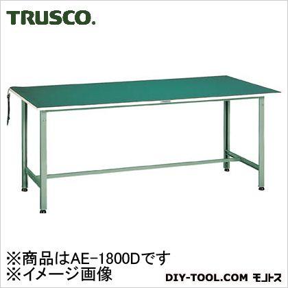 トラスコ 帯電防止マット張軽量作業台 1800×750 AE1800D