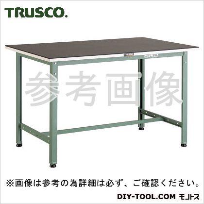 トラスコ AE型ゴムマット張軽量作業台 1500×750 AE1500G5
