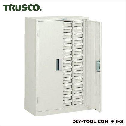 トラスコ(TRUSCO) バンラックケースA型扉付4列15段ネオグレ NG 600 x 370 x 1040 mm A415D