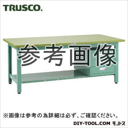 トラスコ(TRUSCO) ダップ樹脂天板中量作業台3段キャビネット付 1800×900 GWP1890D3