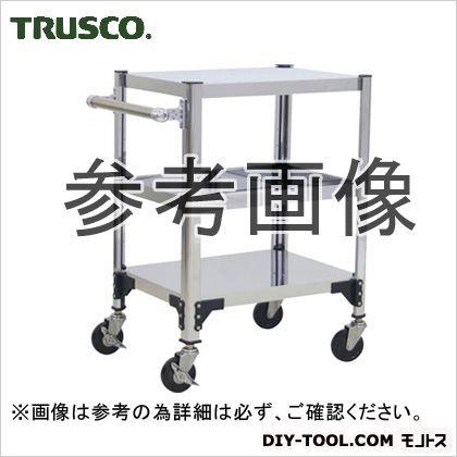 トラスコ(TRUSCO) ステンレス製導電性ワゴン750X450XH829 870 x 445 x 150 mm TT3-823