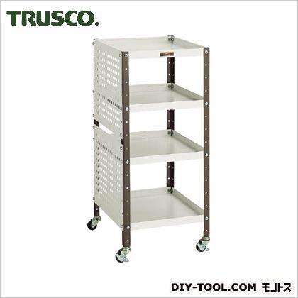 TRUSCO V型ツールワゴン350X420XH7984段Pパネル付 VS-1P2
