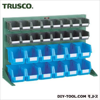 トラスコ パネルコンテナラック片面卓上式 緑 900×305×600 T0622N