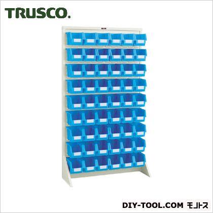 トラスコ パネルコンテナラック片面床置式 ネオグレー 910×320×1600 T1696N