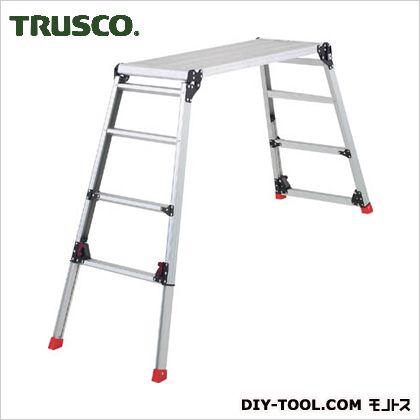 トラスコ TRUSCO 足場台アルミ製脚部伸縮タイプ高さ0.87~1.18m 有名な 1055 永遠の定番モデル x TDWG910 565 190 mm